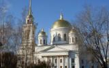 Собор Александра Невского в Ново-Тихвинском монастыре