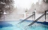 Открытый термальный бассейн г. Реж