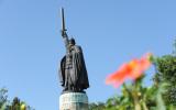 Муром. Памятник Илье Муромцу.