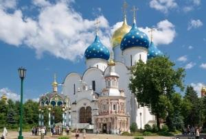 Сергиев Посад Успенский собор