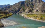 Слияние рек Чуя и Катунь