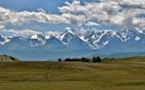Панорама Северо-Чуйского хребта