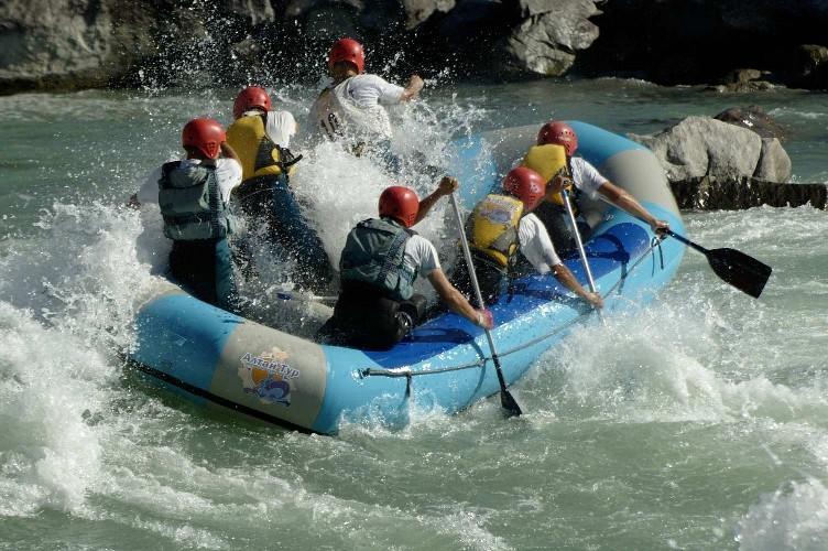 Сплав по реке Чуя