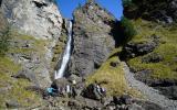 Шинокские водопады. Жираф.