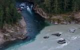 Слияние рек Чемал и Катунь