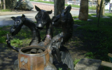 Змей Горыныч в парке Бажова.