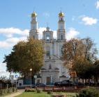 Православный храм, расположенный в с. Глубокое.
