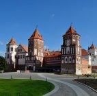 Средневековый замок в Мире.