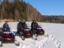 Листвянка путешествие на снегоходах
