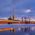 Зимний Петербург в январе