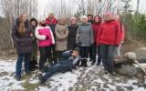 наша группа на вершине горы