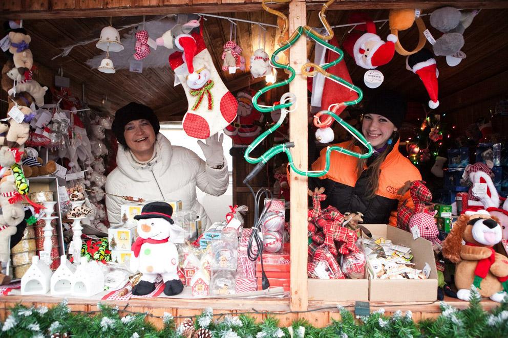 Рождественская ярмарка Екатеринбург