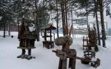 в парке Бажова